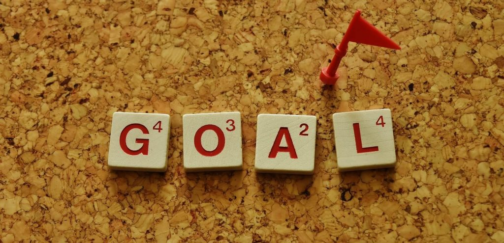 stay focused on the goal